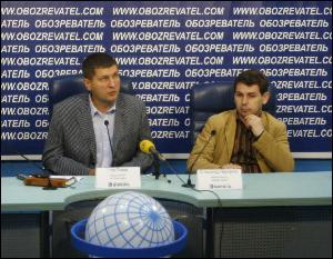 На фото Игорь Попов и Александр Черненко. Просто хочется хорошо кушать?