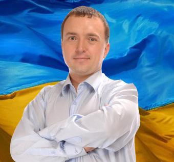 На фото председатель политсовета Партии Народный порядок Андрей Древицкий