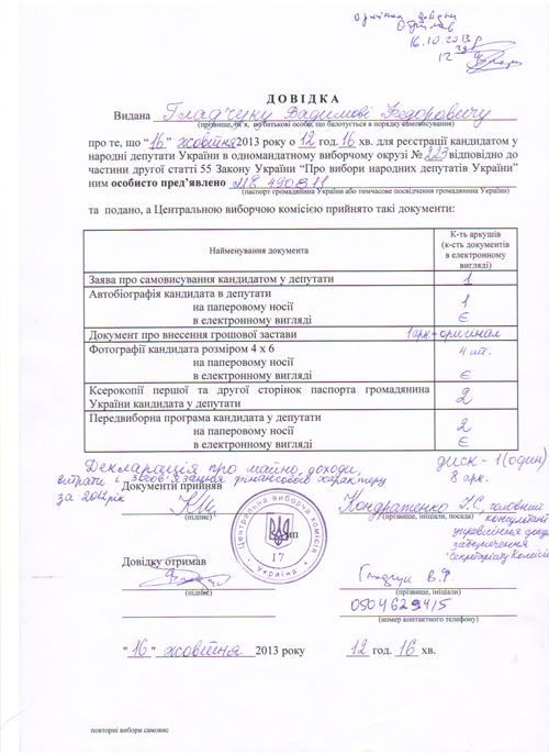 dovidka-CVK-Gladchuk16-10-2013-1